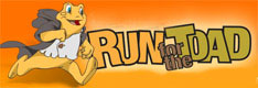 Run for the Toad event promotion logo